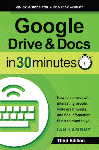 Google Drive and Docs Book - Google Drive & Docs In 30 Minutes