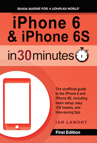 iPhone 6 book - iPhone 6 and 6S In 30 Minutes