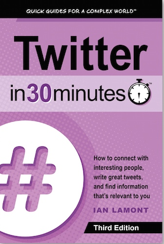 Twitter book - Twitter In 30 Minutes